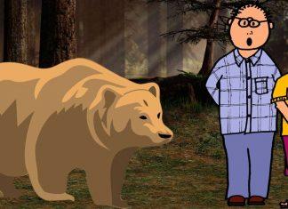Los dos amigos ye l oso, una fábula sobre la amistad