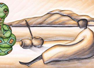 Anansi y la pitón, una leyenda sobre el ingenio para niños