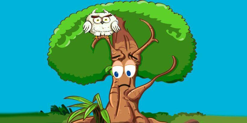 El árbol que no sabía quién era, una fábula oriental para adolescentes y jóvenes