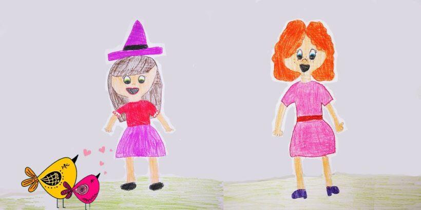 Un cuento sobre la amistad para niños: La brujilla Serafina