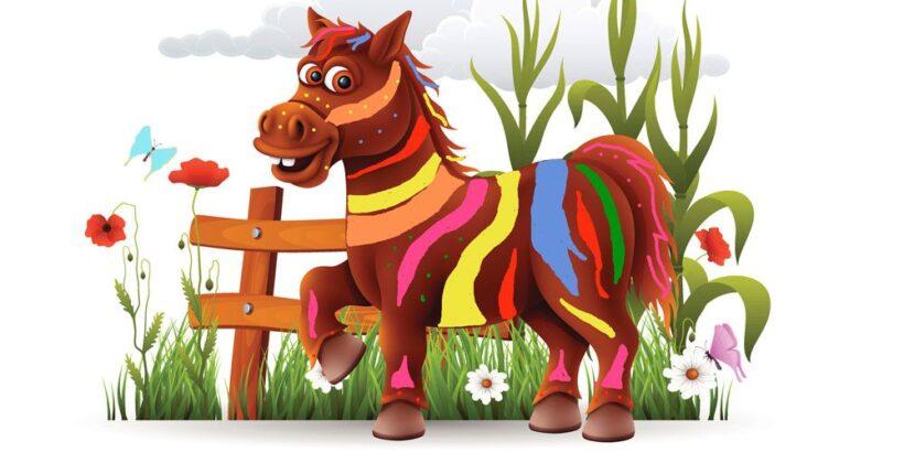 Leyenda sobre la graitud: El caballo de los siete colores