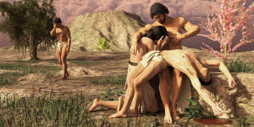 Caín y Abel, una historia bíblica contada para niños