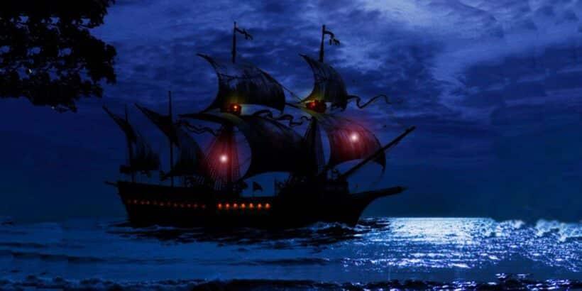 Una leyenda de Chile sobre un barco fantasma