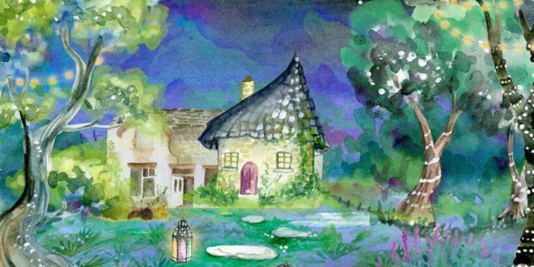 Cuento infantil de misterio: Guadalupe y la casa misteriosa