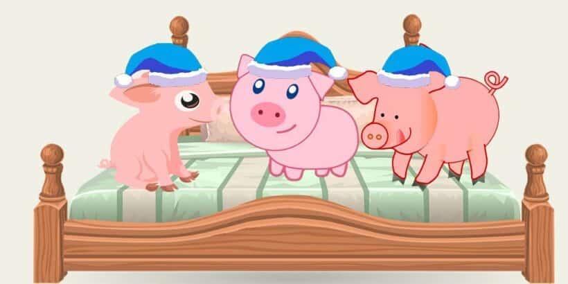 Canción de Cri Cri para dormir: los tres cochinitos