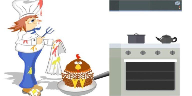 Una divertida poesía para niños de Gloria Fuertes: El cocinero distraído