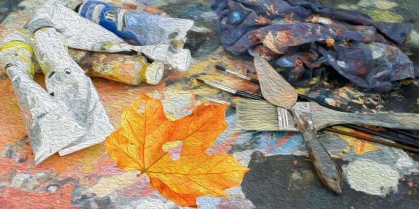 El corazón del pintor, un relato sobre el primer amor