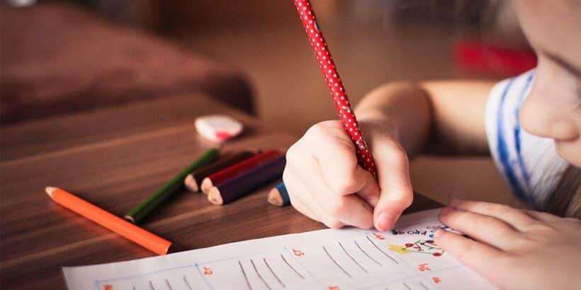 Dictados para niños con palabras llanas