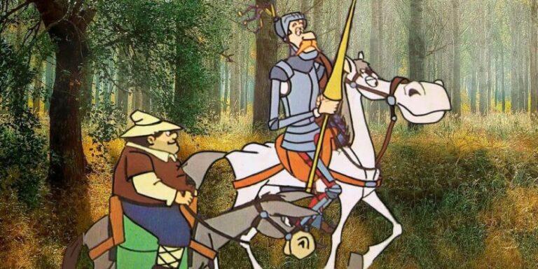La aventura de Don Quijote y los yangüeses