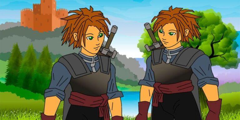 Los dos hermanos, un cuento para niños de los hermanos Grimm