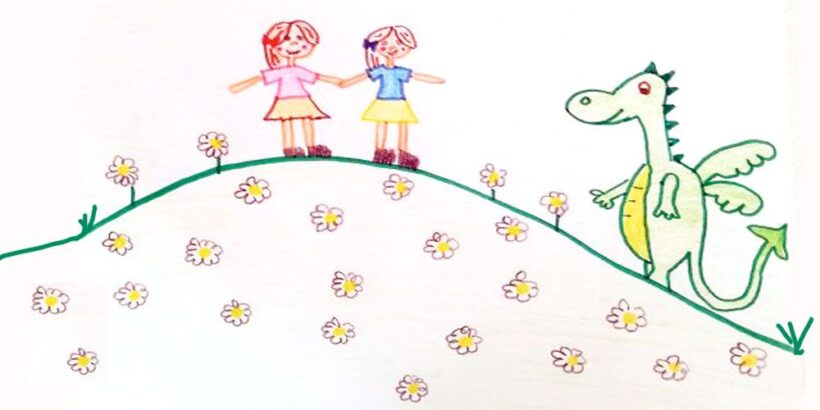 El reino de las margaritas, un cuento para niños