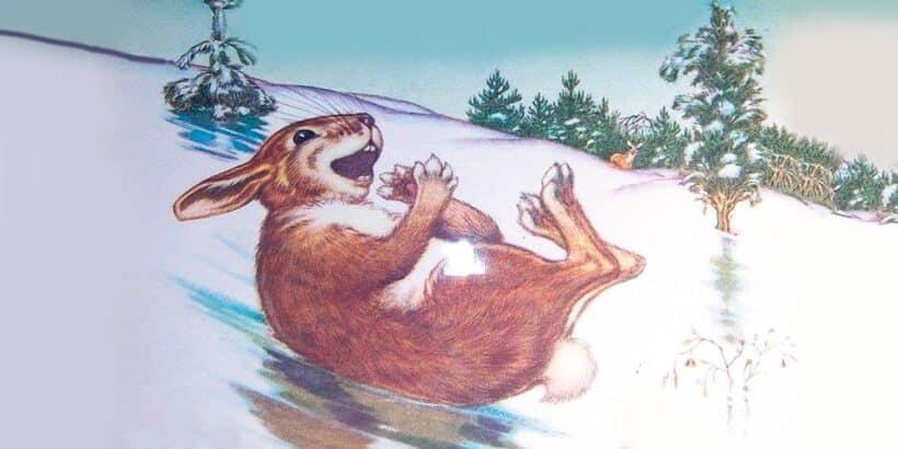 Cuento infantil con animales: El duro invierno