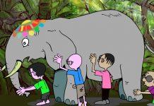 El elefante y los seis ciegos, una leyenda india sobre la cooperación