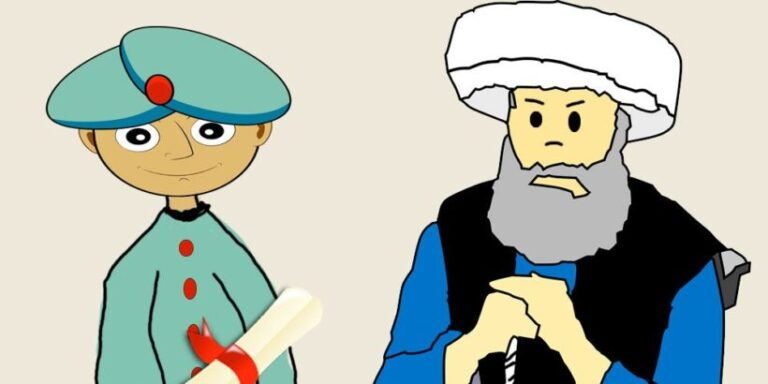 El maravilloso cuento El poeta y el califa