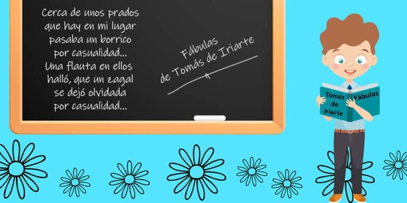 Fábulas de Tomás de Iriarte para leer con los niños