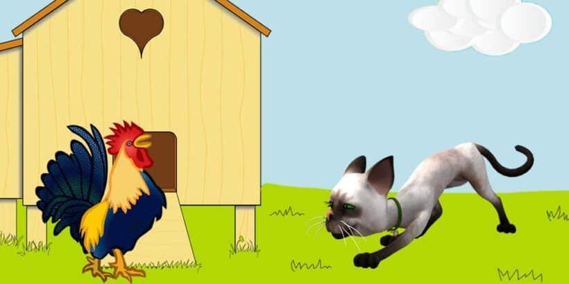 El Gato Y El Gallo Fábula De Esopo Para Niños Tu Cuento Favorito