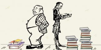 Fábula en verso sobre el aprendizaje: El sobrio y el glotón
