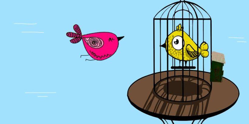 Una fábula sobre la desconfianza: los dos gorriones