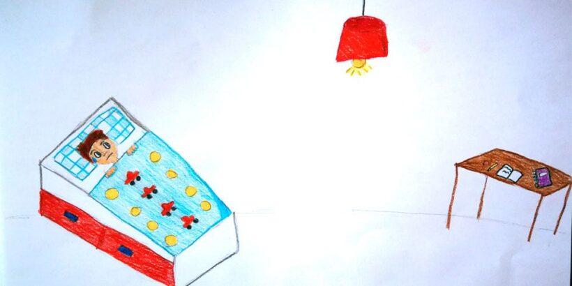 Cuento para niños con miedo a los fantasmas: Hay un fantasma en mi bombilla