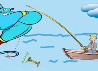 Cuento de las MIl y una noches para niños: Historia de un pescador