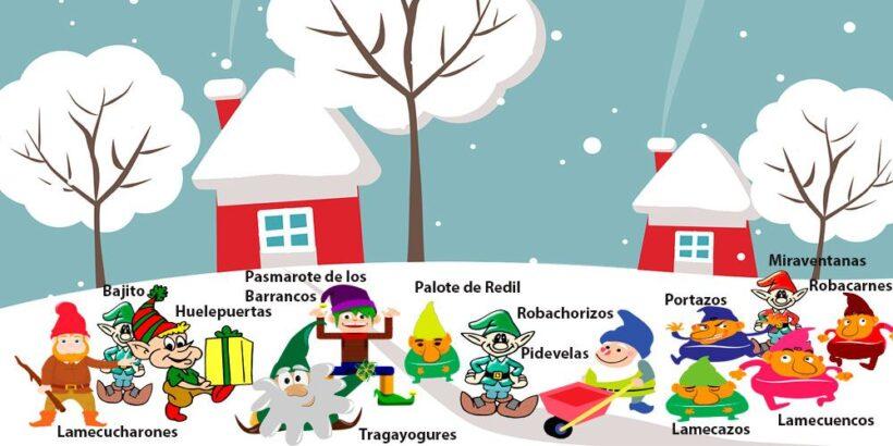 Una preciosa leyenda de Navidad para niños: Los 13 hombrecillos de la Navidad