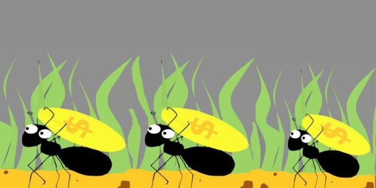 Las hormigas y el tesoro, una preciosa leyenda africana