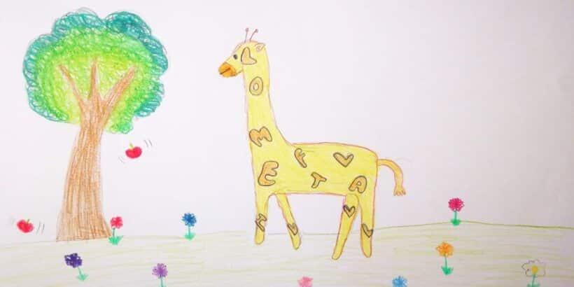 La jirafa más alta, un cuento para incentivar a los niños en la lectura