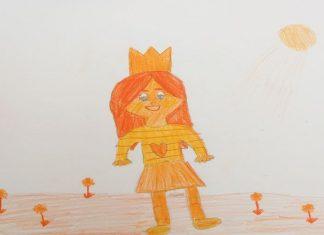 Un cuento para niños con valores: La princesa de la cara naranja
