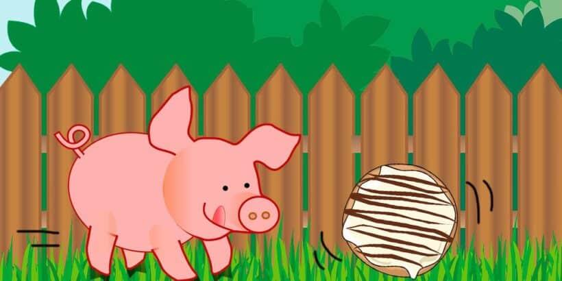 Un cuento para niños sobre la fanta de prudencia: La torta