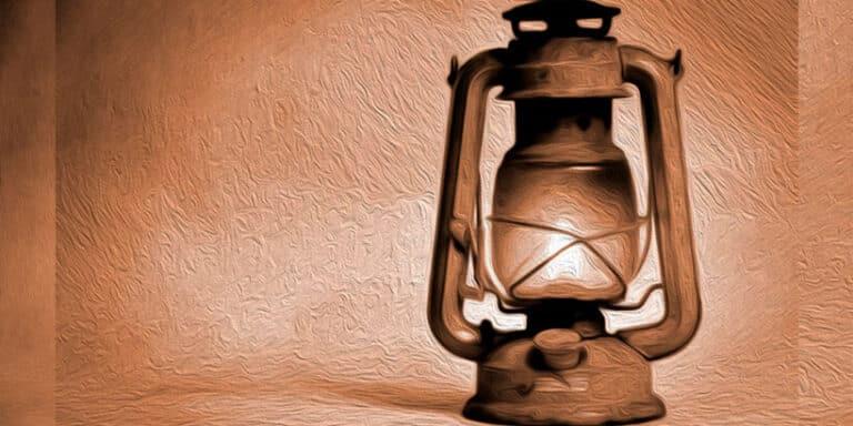 La fábula de La lámpara sobre la vanidad para niños y mayores