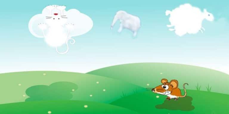 Las nubes, cuento corto para niños pequeños