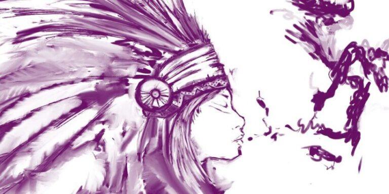 Las tres pipas, una leyenda india sobre la ira