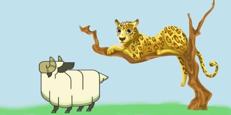 El leopardo y el carnero, una leyenda africana con valores