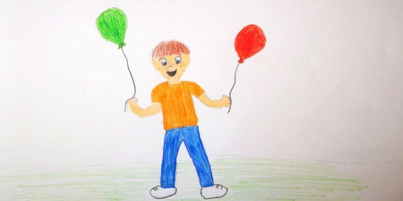 Los globos de Tomás: cuento infantil sobre la consecución de los sueños