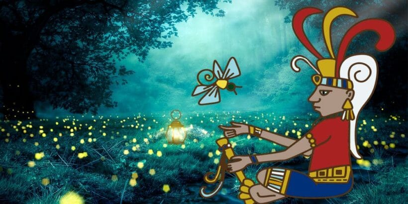 La luciérnaga, una leyenda maya para niños