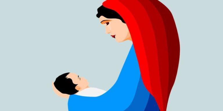 María madre, una poesía de Navidad de Gloria Fuertes