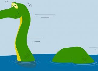 Leyenda delMonstruo del lago Ness para niños