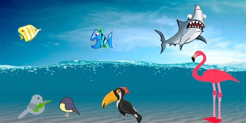 Canción para niños muy divertida: El reino del revés