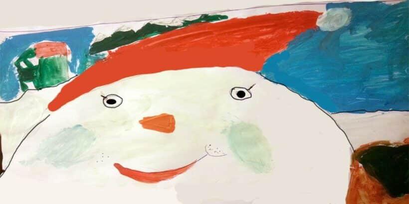 Un cuento infantil para Navidad: El muñeco de nieve
