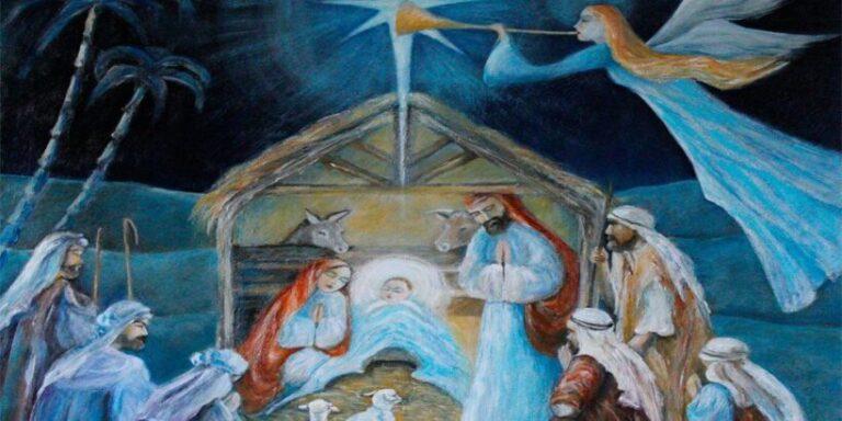 Lahistoria del nacimiento del niño Jesús, contada para los niños