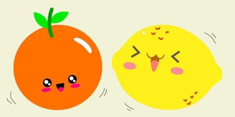 La ronda para niños Naranja dulce, limón partido