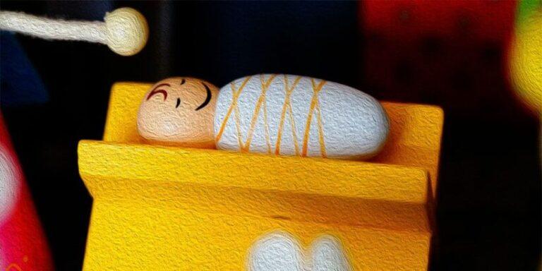 Villancico del niño dormilón, poesía de Navidad para niños