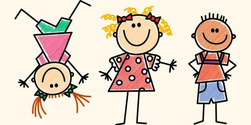 Poesías de Gloria Fuertes para niños: Cómo dibujar un niño