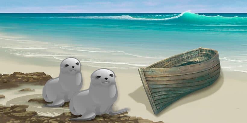 El marinero que se casó con una foca, fábula celta para niños