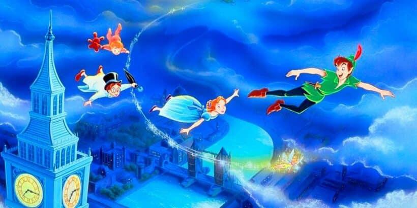 Peter Pan, un cuento para niños sobre el miedo a crecer y madurar