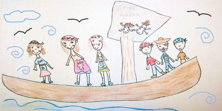 Mamá, yo quiero ser pirata. Cuento infantil sobre la igualdad de género