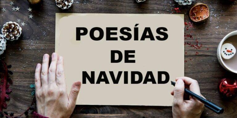 Poesías de Navidad para niños