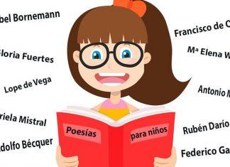 10 poesías para niños de autores muy conocidos