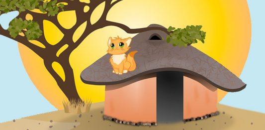 Cuento para niños Por qué los gatos viven con las personas