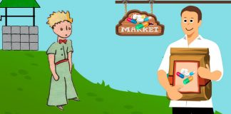 El Principito y el mercader, explicado para niños